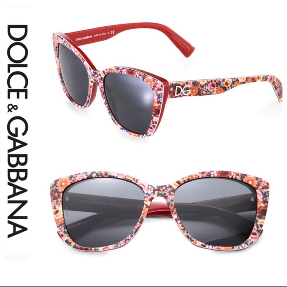 a9ad77471 Dolce & Gabbana Accessories - 💕SALE💕 Dolce & Gabbana Cat Eye Floral  Sunglasses